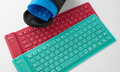 Silicone Keyboard by CitySlips