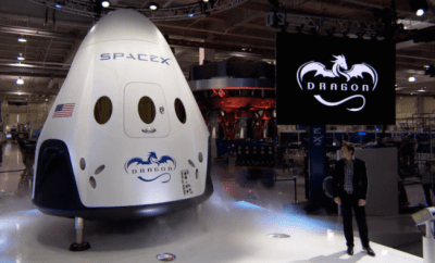 The Dragon V2 Is SpaceX's First Ever Manned Spacecraft
