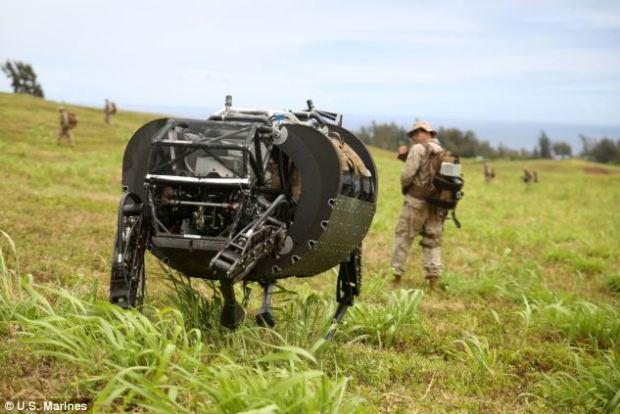 "Robotic ""Big Dog"" Got In Trials With US Marines"