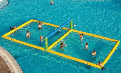 Water Volleyball Court