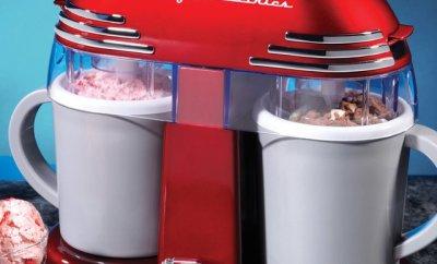 Double Homemade Ice Cream Maker