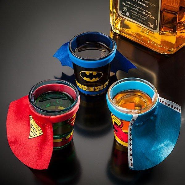 DC Comics Caped Shot Glass