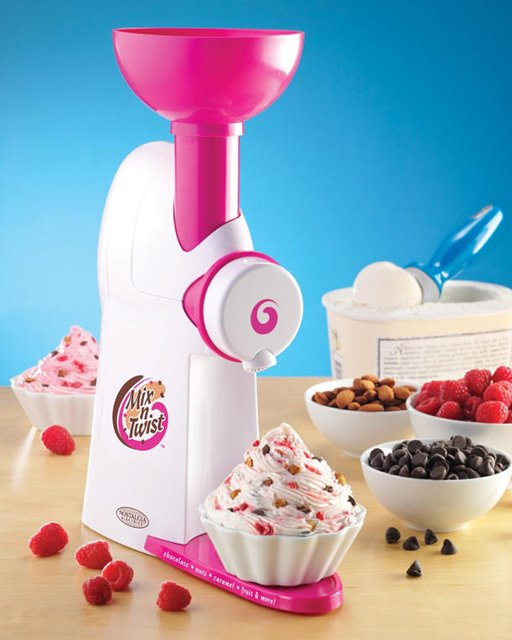 Ice Cream & Toppings Mixer