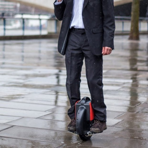 Electric Self-Balancing Unicycle by Airwheel