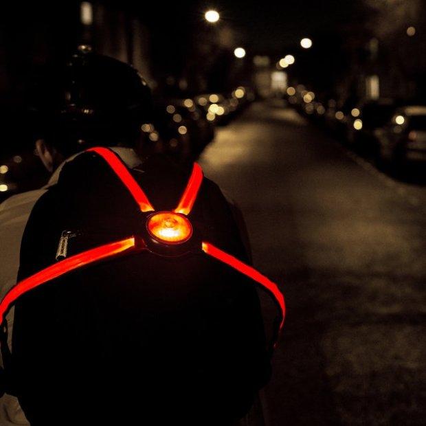 Commuter X4 Fiber Optic Bike Light