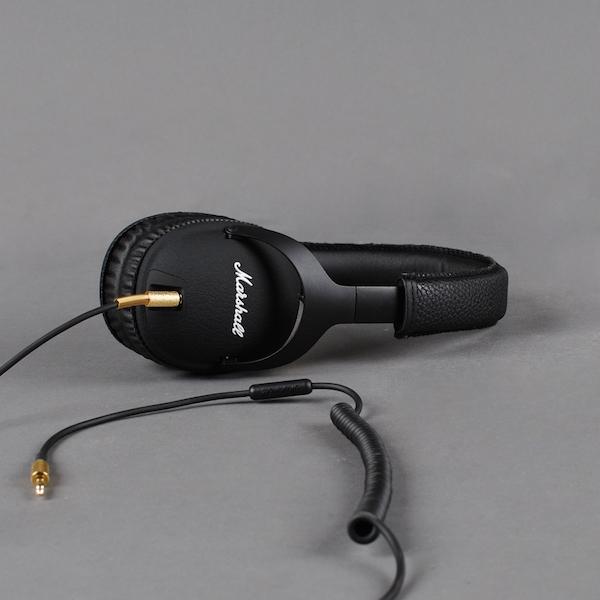 The Marshall Monitor Black Headphones