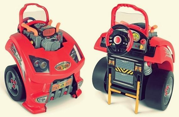 Car Engine Repair Playset For Little Mechanics
