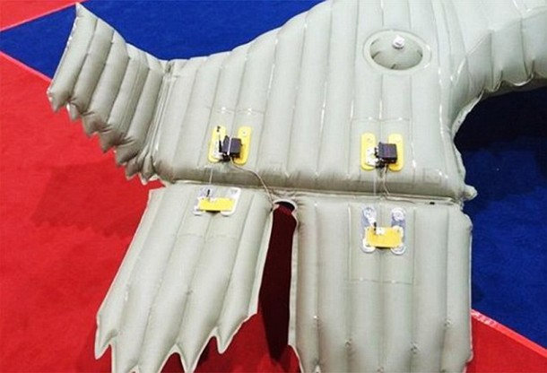 190Kmph Inflatable Airplane Made By A Chinese Engineer