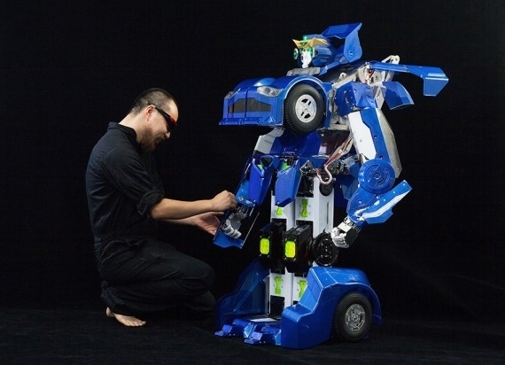 Japanese Real-Life Transformer
