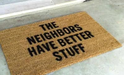 Protect Yourself With This Defensive Doormat