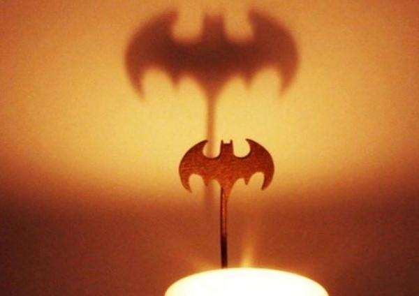 Calling Batman by Candlelight: Bat Signal Shadow Caster