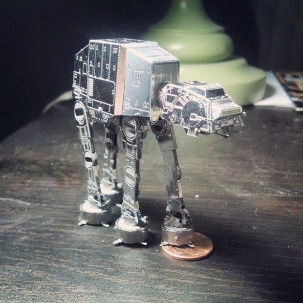 Star Wars DIY Laser Cut 3-D Models by Metal Earth