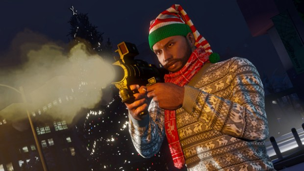 The GTA Online Festive Surprise