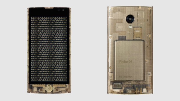 Latest FireFox Transparent Phone