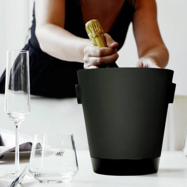 Naturally Cooling Ceramic Champagne Bucket