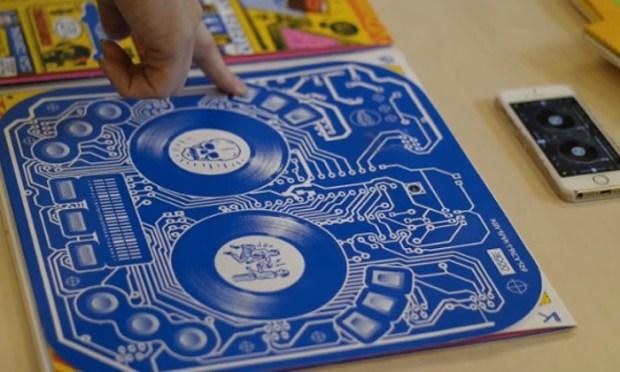 Album Cover Is Also An Interactive DJ Controller