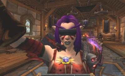 World of Warcraft Selfie Camera