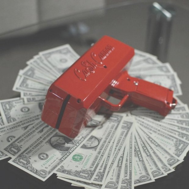 The Cash Cannon For All You Millionaires Out There