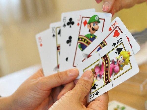 Fanboys Dream Nintendo Playing Cards