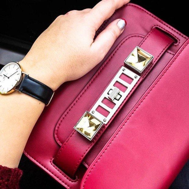 PS11 Mini Classic Leather Shoulder Bag by Proenza Schouler