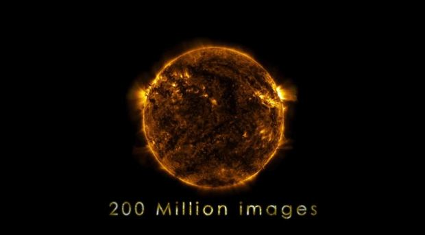 NASA's Timelapse Of The Sun Is Mind-Blowing