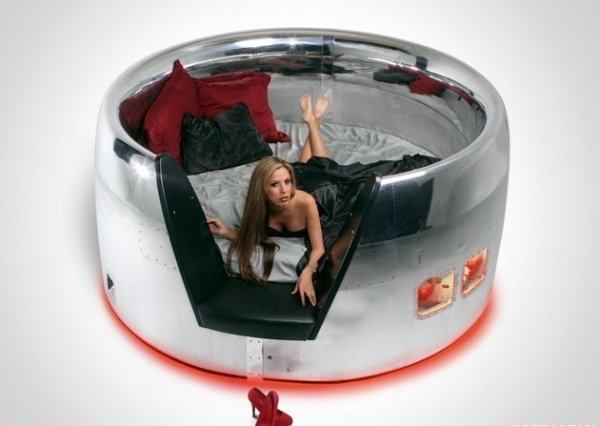 Recycled Jet Beds is the King of All Beds