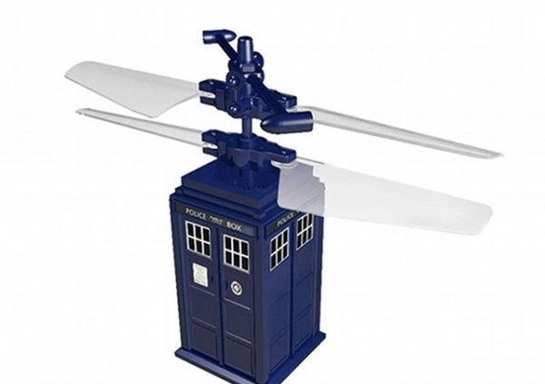 Flying TARDIS R/C Helicopter