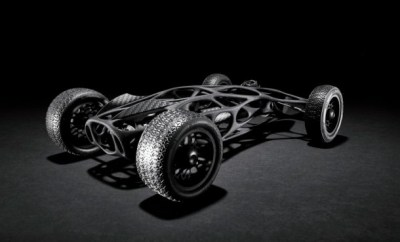 The Ultimate RC Rubber Band Race Car Inspired By Bird Wing Bones