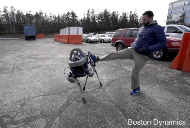 Spot: New Robot From Boston Dynamics (Video)