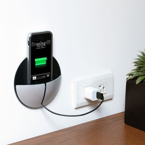 AluPocket Wall Mount by Just Mobile