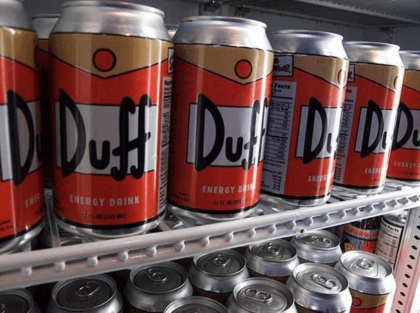 Ultimate Duff Energy Drink 6-Pack For Hardcore The Simpsons Fans