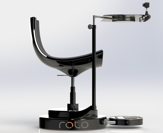 Roto Spinning Virtual Reality Chair
