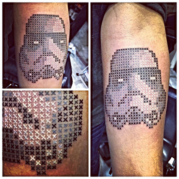 These Are The Coolest Cross Stitch Tattoos