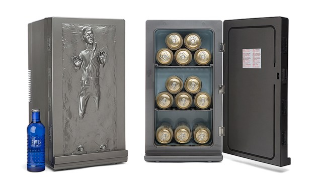The Han Solo Frozen In Carbonite Mini Fridge