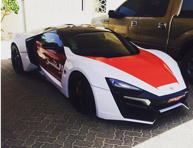 Abu Dhabi Police Got Lykan HyperSport Patrol Car
