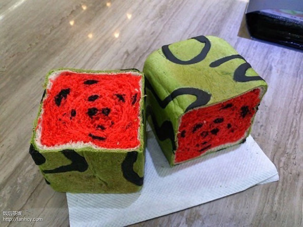 Want A Slice Of This Watermelon Bread
