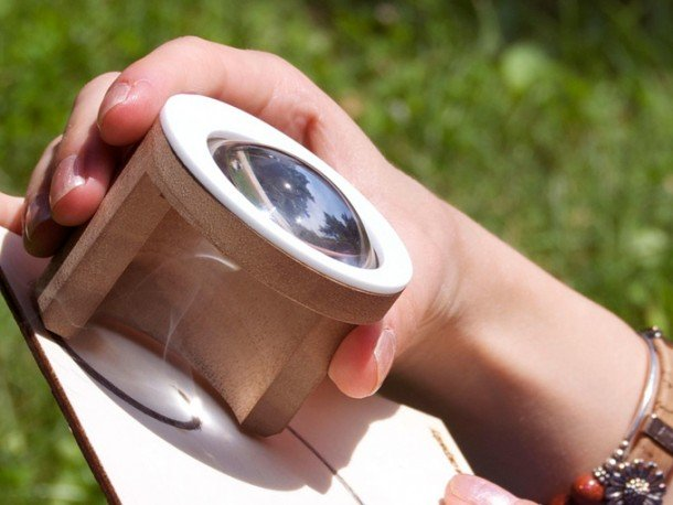 Lens Will Let You Draw Anything Using Only Sunlight