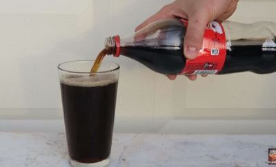 Coca-Cola Is Mixed With Bleach
