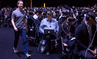 Mark Zuckerberg Stole Samsung's Galaxy S7 Show At