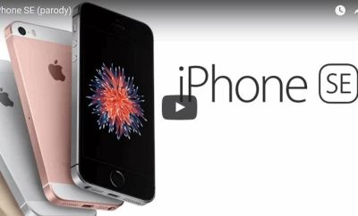 iPhone SE Parody Commercial