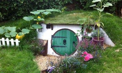 DIY Hobbit House In Your Backyard