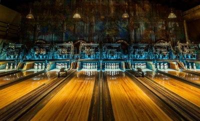 Steampunk Bowling Alley
