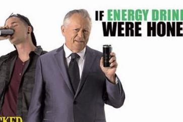 Honest Commercial for Energy Drinks