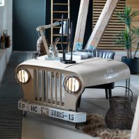 Willy Jeep Desk For Your Ultimate Man Cave