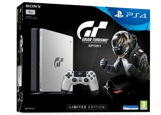 PlayStation 4 Limited Edition Gran Turismo Sport Console