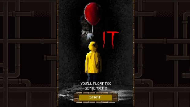 Stephen King's IT Has 8-Bit Video Game