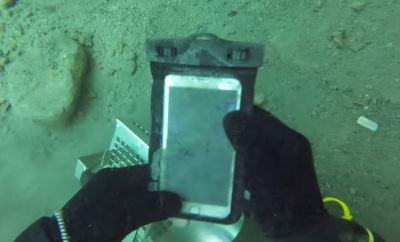 iPhone 6 Plus Underwater