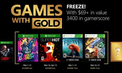 Gold For March 2018
