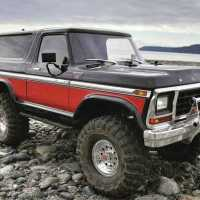Remote Controlled Bronco Trucks That Appear Life Sized Expertly Run a Rocky Northwest Beach