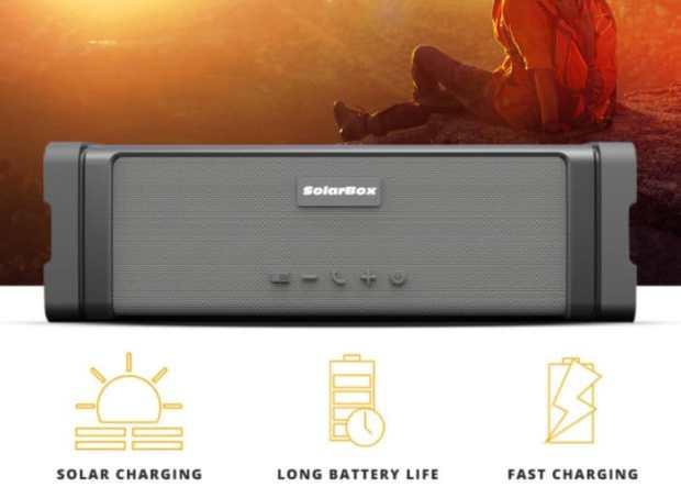 Waterproof Solar Speaker